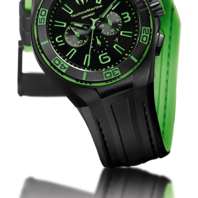 TechnoMarine Cruise Night Vision II Ref. 112002 - Nero/Verde