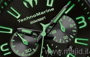 TechnoMarine Cruise Night Vision II Ref. 112002 - Nero/Verde
