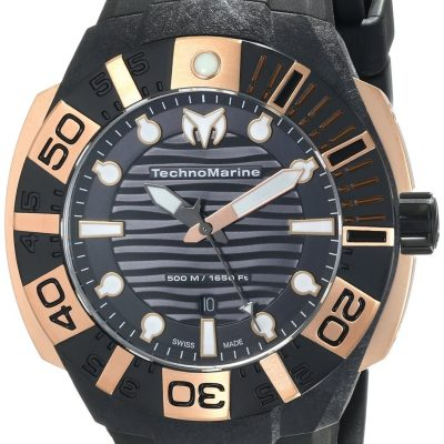 TechnoMarine Cruise Black Reef Ref. 514002 - Nero -