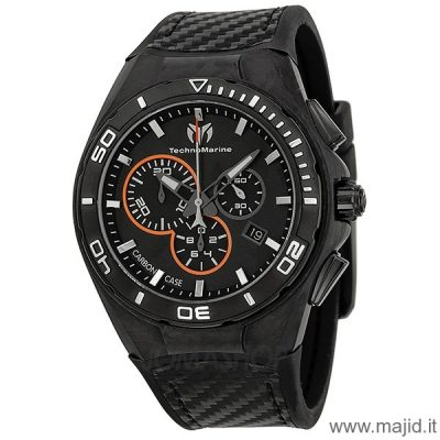 TechnoMarine Steel Evolution Ref. 113001 - Fibra di Carbonio -