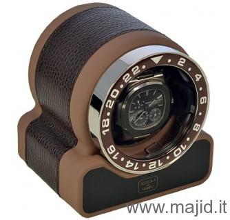 Scatola del tempo mod. Rotor One Sport soft touch cioccolato