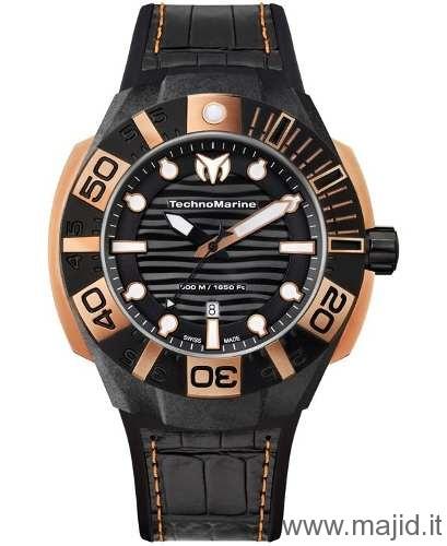TechnoMarine Cruise Black Reef Ref. 514002 - Nero -