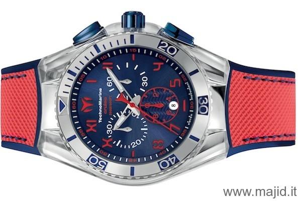 TechnoMarine Cruise California Ref. 114026 - rosso/blu -